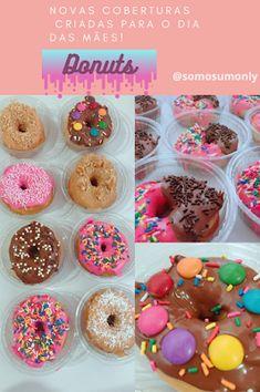 """Especial pedidos """"Dia das mães""""! Donuts, Doughnut, Desserts, Food, Bonbon, You Are Special, Maids, Meal, Beignets"""