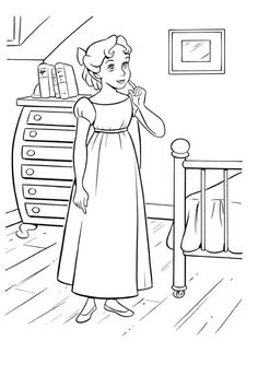 coloring page Peter Pan on Kids-n-Fun. Coloring pages of Peter Pan on Kids-n-Fun. More than coloring pages. At Kids-n-Fun you will always find the nicest coloring pages first! Peter Pan Coloring Pages, House Colouring Pages, Cool Coloring Pages, Disney Coloring Pages, Printable Coloring Pages, Adult Coloring Pages, Coloring Pages For Kids, Coloring Books, Coloring Worksheets