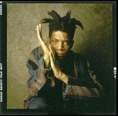 Jean-Michel Basquiat (December 22, 1960 – August 12, 1988) was an American artist who rode high in the eighties New York Art Scene. His career in art began on the streets as a graffiti artist. Under the pseudonym SAMO he'd leave political-poetical messages impregnated on city walls… 'Plush safe he think'… 'SAMO as an alternative to the bourgeois.'
