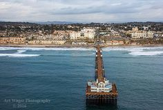 Oceanside Pier Fine Art Photograph by ArtWagerPhotos on Etsy  FREE shipping in the continental US