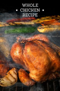 """An all-time Traeger classic. Immediately after tasting, everyone refers to this as """"The best chicken I've ever tasted!"""" This recipe is so easy that it gives you an extra hour of down time. Click for the full recipe."""