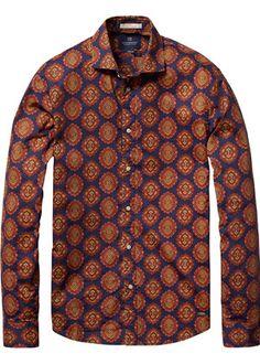 Scotch & Soda - Amsterdam Couture - Clothing, Fashion and Scotch Soda, Dapper, Printed Shirts, Shirt Dress, Couture, Classic, Mens Tops, Street, Check
