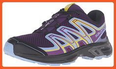 Salomon Women's WINGS FLYTE 2 Athletic Shoe, cosmic purple/pale lilac/black, 11 Medium US - Outdoor shoes for women (*Amazon Partner-Link)