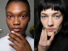 Architectural eyeliner, ombré lips, Twiggy lashes, and more fall 2017 makeup trends. Makeup Trends 2017, Beauty Trends, 2017 Makeup, Winter Makeup, Fall Makeup, Winter Beauty, Makeup Inspo, Makeup Inspiration, Makeup Trends