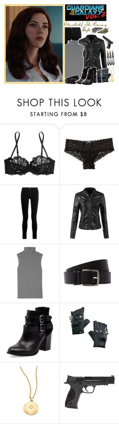 """✧; Elizabeth/ The Canary's Style"" by once-upon-a-peytenn ❤ liked on Polyvore featuring La Perla, Hollister Co., J Brand, Equipment, Hermès, Bonbons, Funk Plus, Astley Clarke, Smith & Wesson and Paperself"