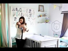 Video Tour of a Circus-Themed Baby Nursery - #nursery #nurserydecor