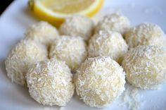 (No-Bake) Keto Lemon Coconut Balls | Mouthwatering Motivation