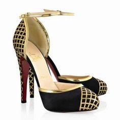 57a38a7049f5 77 Best Christian Louboutin Wedges and Sandals images