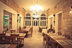 Examples of Hipster Levantine Style: a restaurant in Beirut