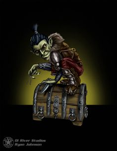 Half Goblin:  Dungeon Roll by Ryno8