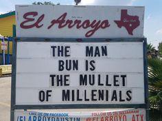 Man bun vs mullet #funnypics #funny #lol