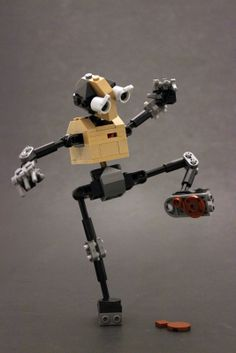 E-MOTE: Crappy Day. This little guy is so awesome. I hope they make a set similar to this. Lego Mechs, Lego Bionicle, Legos, Lego Bots, Crappy Day, Lego Creator Sets, Cool Robots, Lego Worlds, Cool Lego Creations