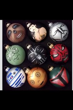 I'm so painting these ornaments for you baby.