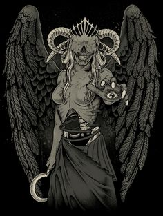Angel Of Death by DeadInsideGraphics on deviantART