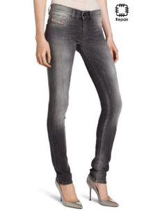 Diesel Women's Livier Jegging Pantalon Slim, Jeggings, Diesel, Looks Great, Plaid, Clothes For Women, Pants, Yolo, Shopping