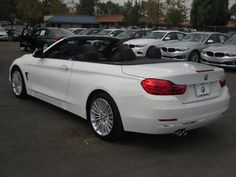 BMW: 4 Series 428 i 4 series new 2 dr convertible automatic gasoline l 4 cyl alpine white Bmw Convertible, Alpine White, Bmw 4, Lovers, Trucks, Cars, Nice, Jet Engine, Autos