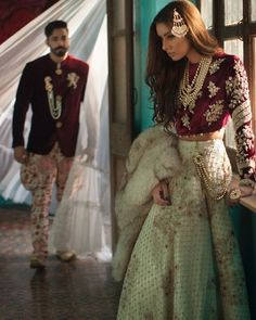 First look at @pakistanvogue  #AllTheRaj bridal and trousseau collection is inspired by sub-continent royalty, grandeur of yore and subtle style influences left by British. The campaign is shot by #RizwanUlHaq featuring supermodel #NoorBhatti. @shehlachatoor @noor_bhatti @nabila_salon  #fashion#shehlachatoor#bridal#wedding#style#bride#couture#readytowear#outfit#