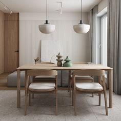 River Park on Behance Home Room Design, Dining Room Design, Apartment Interior, Kitchen Interior, Condo Interior Design, Minimalist Dining Room, Italian Furniture, Cuisines Design, Modern House Design