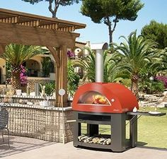 Italian Alfa Pizza Oven - wood burning outdoor portable ovens available in BC by MODE CONCRETE