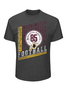Celebrate the  Redskins  85th anniversary with this classic tee. Redskins  Football f4306aa25