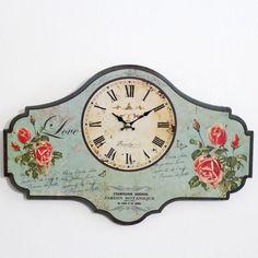 Zegar w kwiaty II - CENA: 43,00 zł