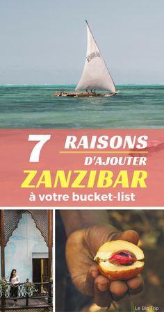 7 raisons d'ajouter Zanzibar à votre bucket-list
