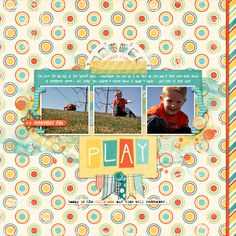 using Childhood Memories by Pixels & Company, part of the June 2014 Scrap Pack at Scrap Stacks