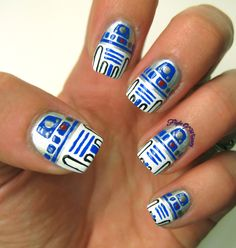 7 Amazing Star Wars Inspired Nails- The Michigan Mom