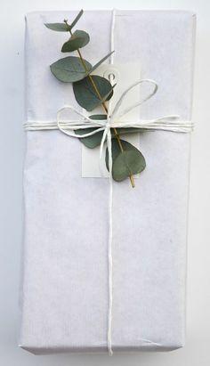 gesund leben Eukalyptus deko ideen geschenkverpackung