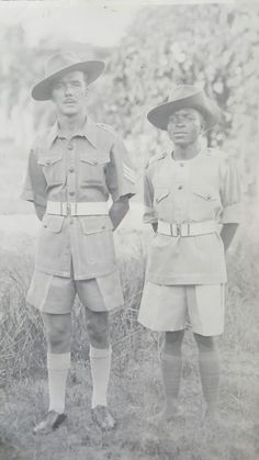 Great grandad James Wicks in Africa