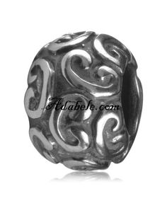 This beautiful ancient gold lock .925 Sterling Silver European charm fits Pandora, Biagi Trollbeads, Chamilia, and most charm bracelets find out more at adabele.com