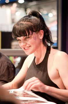 Pauley Perrette -  NCIS would NOT be the same without her and her character, Abby.