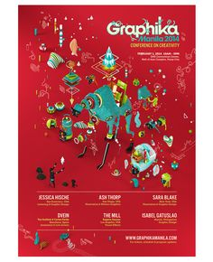 Graphika Manila 2014 by The Acid House, via Behance