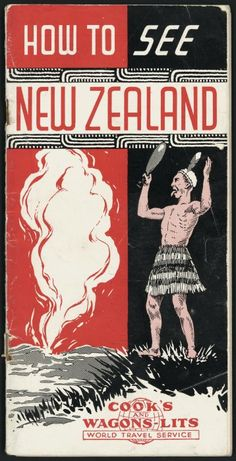 Thomas Cook & Son Ltd :Cooks and Wagons-Lits World Travel Service. How to see New Zealand, [Front cover. Cross Tattoo For Men, Nz Art, Nordic Tattoo, Kiwiana, Art Deco Posters, Travel Party, World Pictures, The Beautiful Country, New Zealand Travel