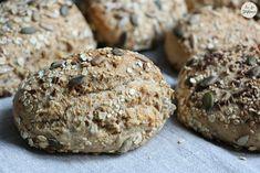 Petits pains aux graines faits-maison - La Fée Stéphanie
