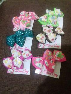 #hairclips dir babys      Gran variedad de moños para babys  @Moños Caty