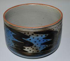 Gudrun Östergaard, bowl in stoneware, own studio Denmark.