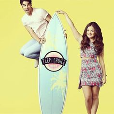 Lucy Hale and Darren Criss to Host the 2013 Teen Choice Awards!