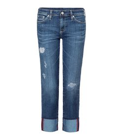 Look at this Dex Mended Blue Straight-Leg Jeans - Women on #zulily today!