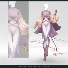(OPEN) Adoptable Outfit Auction 264 by JawitReen.deviantart.com on @DeviantArt