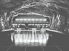 Stadion Metro Station - Stockholm, Sweden.  www.karimtaib.com