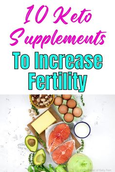 Does the keto diet help fertility? Yes! Healthy fats added to your diet could improve your odds of getting pregnant faster. But you do have to supplement on the keto diet these vital nutrients... keto diet for fertility, keto diet for females, keto fertility diet, female keto diet, keto diet for beginners fertility, fertility foods, fertility diet, fertility boosters, fertility trying to conceive Fertility Boosters, Fertility Foods, Keto Supplements, Get Pregnant Fast, Getting Pregnant, Healthy Fats, Healthy Weight, Diets For Men