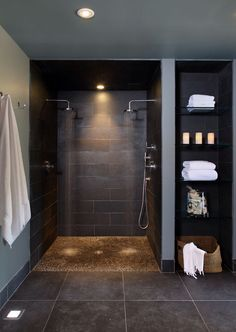 room renovation software home decor contemporary bathroom basement double shower heads with pebble base and storage shelvesgreat bw awesome