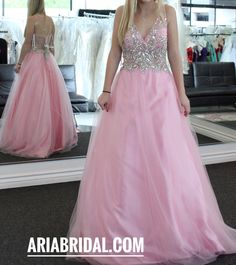 Prom Dress at Aria Bridal in Escondido, California.