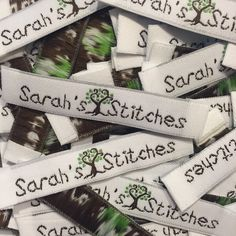 OMG!  In love with how these came out for Sarah's Stitches!!
