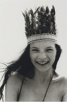Kate Moss  Photography by Corinne Day for The Face