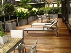 Terras hout exterpark Elondo 21 x 100 mm geleverd door MoreFloors
