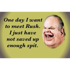 "Rush ""OxyContin"" Limbaugh, a hater and bully. While most of the right, including the entire Fox operation, waged relentless war on the war being waged on the Indiana's discriminatory ""Religious Freedom"" law, Rush Limbaugh decided to broaden the assault by simply denying that anti-gay discrimination, campus rape and police racism even exists. At all. ""It's all fake,"" he sputtered, somehow sounding more nuts than he has ever sounded before."