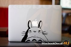 I didn't hold out very long w/o giving into this. $12 for happiness. #Totoro #Decal
