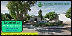 How to make this cloudy day brighter? Come visit CSU Surplus Property! Located on 201 W. Lake Street